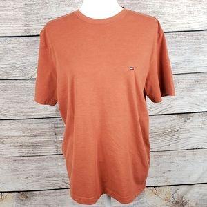 Tommy Hilfiger Orange Mens T Shirt Medium